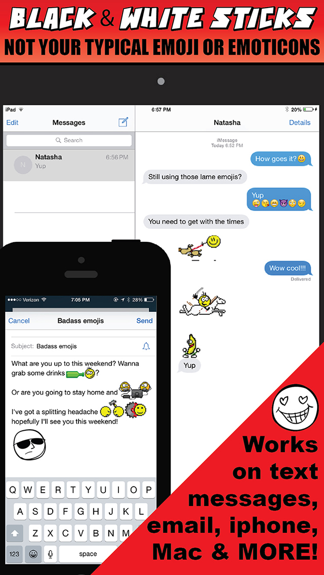 Free Stick Emoji Texting screenshot 3