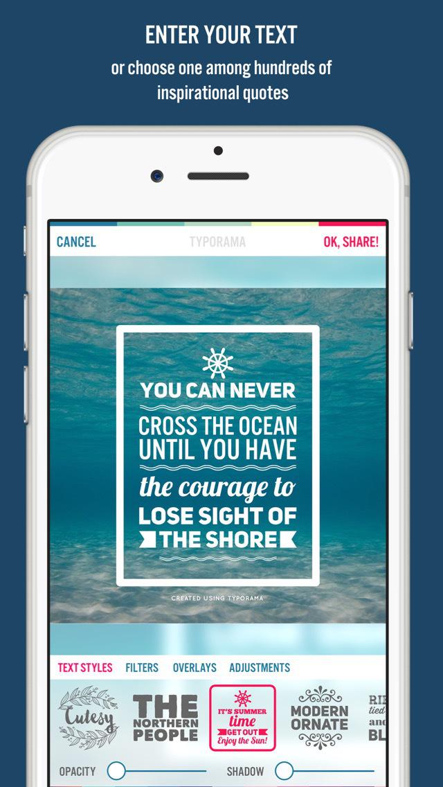 Typorama: Text on Photo Editor screenshot 3