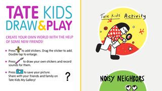 Tate Kids Draw & Play screenshot 1