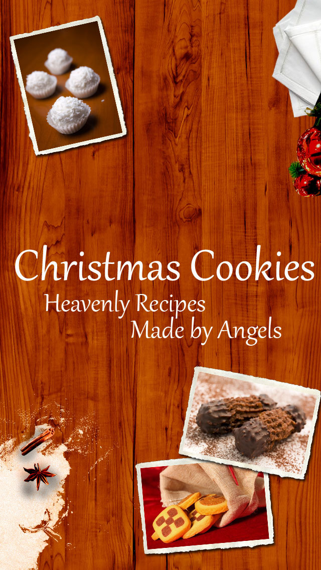 Christmas Cookies - Heavenly Recipes Made by Angels screenshot 1