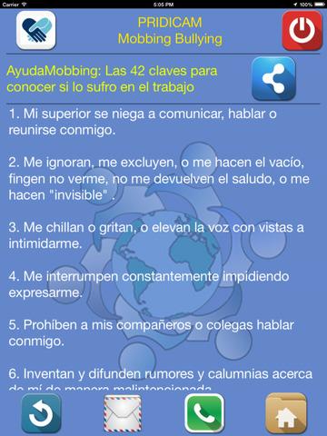 Mobbing Bullying screenshot 6