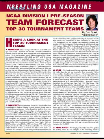 Wrestling USA Magazine screenshot 7