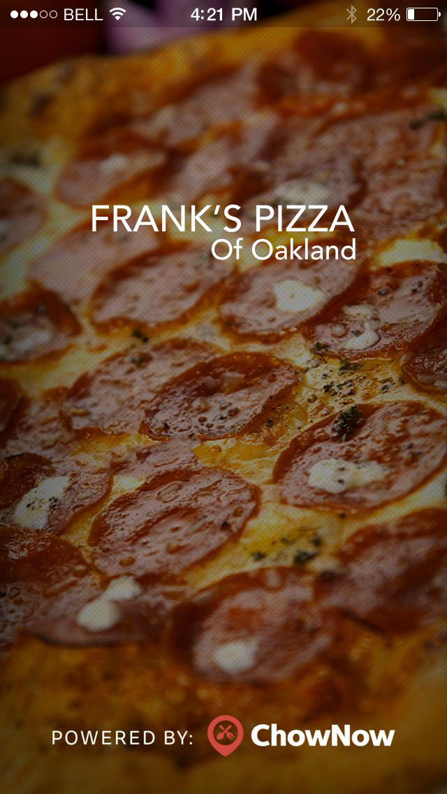 Franks Pizza screenshot 1