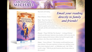 Archangel Michael Oracle Cards - Doreen Virtue, Ph.D. screenshot 3