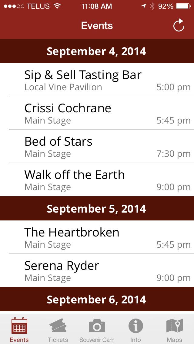 Shores of Erie International Wine Festival screenshot #1