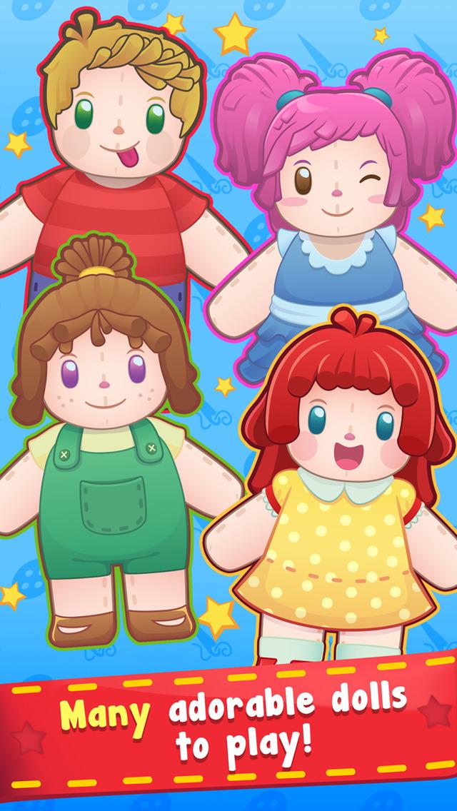 Doll Hospital - Plush Dolls Doctor Game for Kids screenshot 2