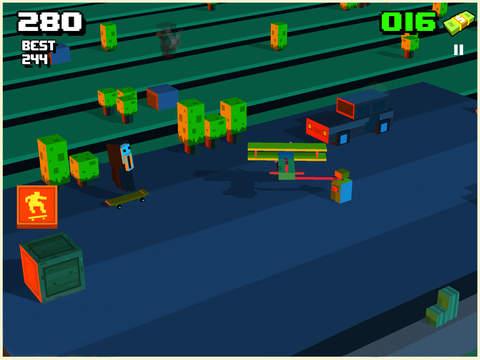 Skatelander - Endless Arcade Skateboarding screenshot 8
