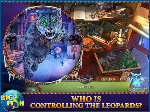 Fierce Tales: Feline Sight HD - A Hidden Objects Mystery Game screenshot 2