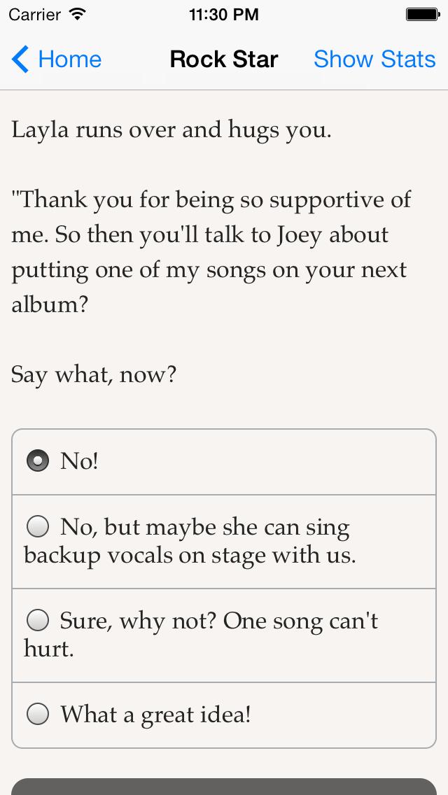 Choice of the Rock Star screenshot 5