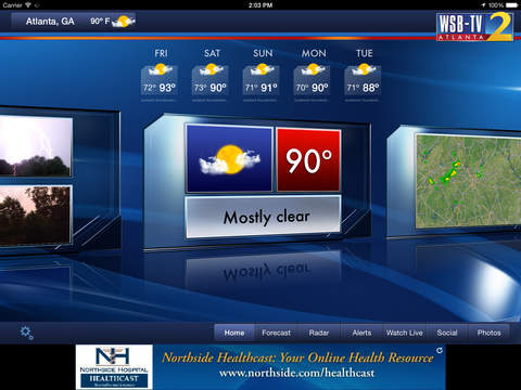 WSB-TV Weather | Apps | 148Apps