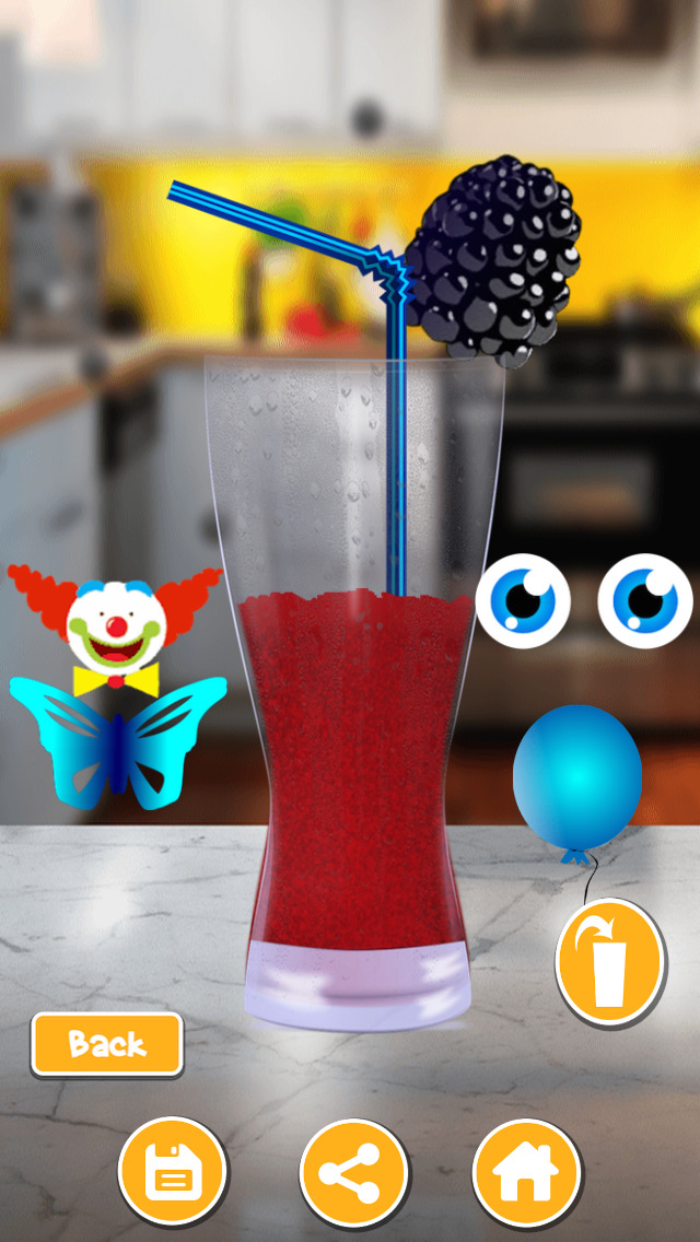 Flavored Slushie Drink Maker Pro - cool kids smoothie drinking game screenshot 5