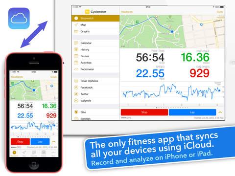 Cyclemeter - Cycling & Running screenshot 6
