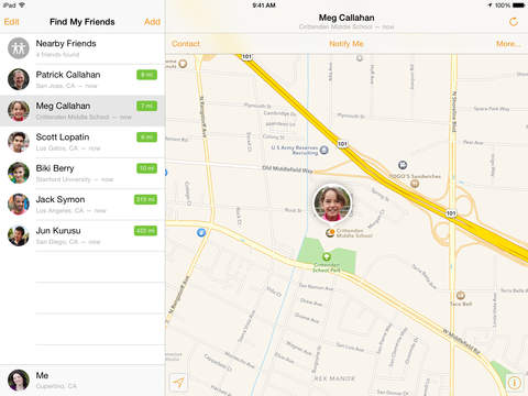 Find My Friends screenshot #2