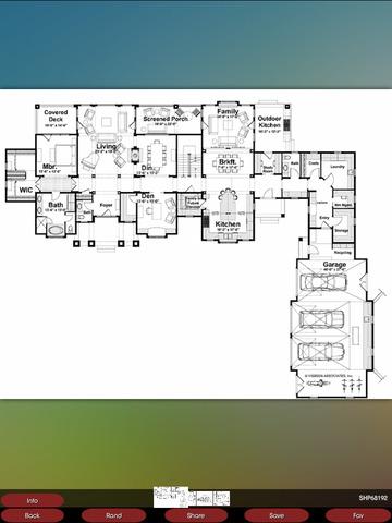 Shingle House Plans screenshot 8