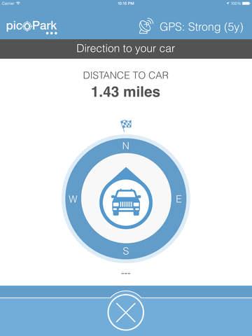 picoPark - Find my car screenshot 9