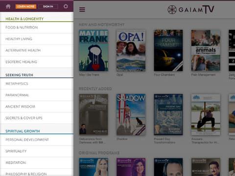 Gaia TV Discover Mindful Yoga screenshot 7