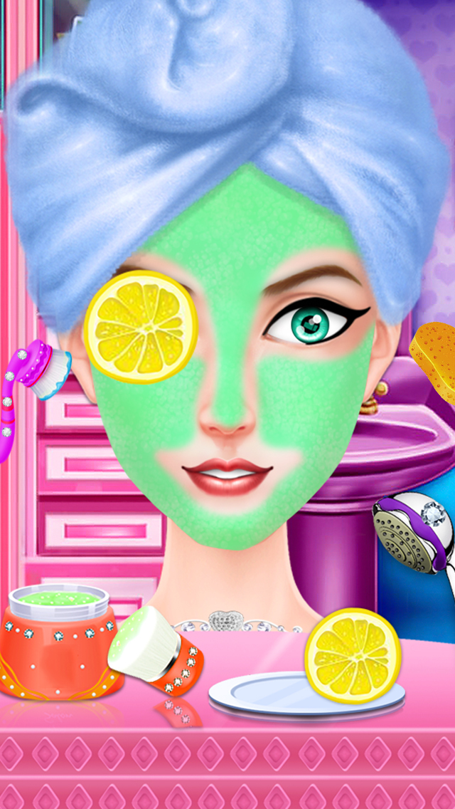 Prom Party Doll Makeover screenshot 3