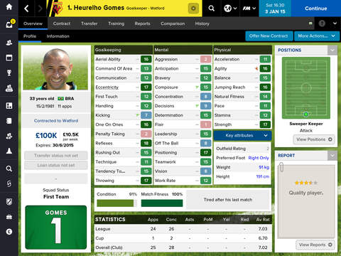 Football Manager™ Classic 2015 screenshot 4