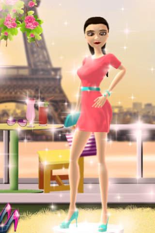 Dress Up Game for Girls: Fantasy Boutique - Paris  - náhled