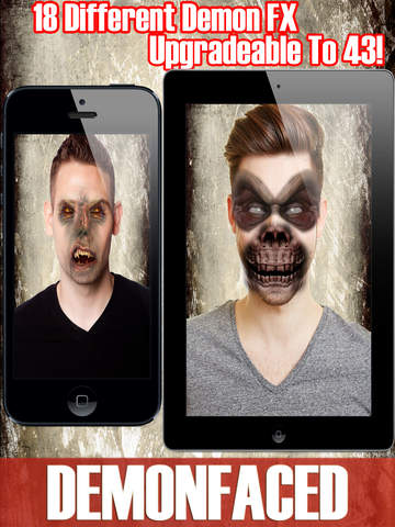 DemonFaced - Scary Ghost Photo Horror FX Editor screenshot 6