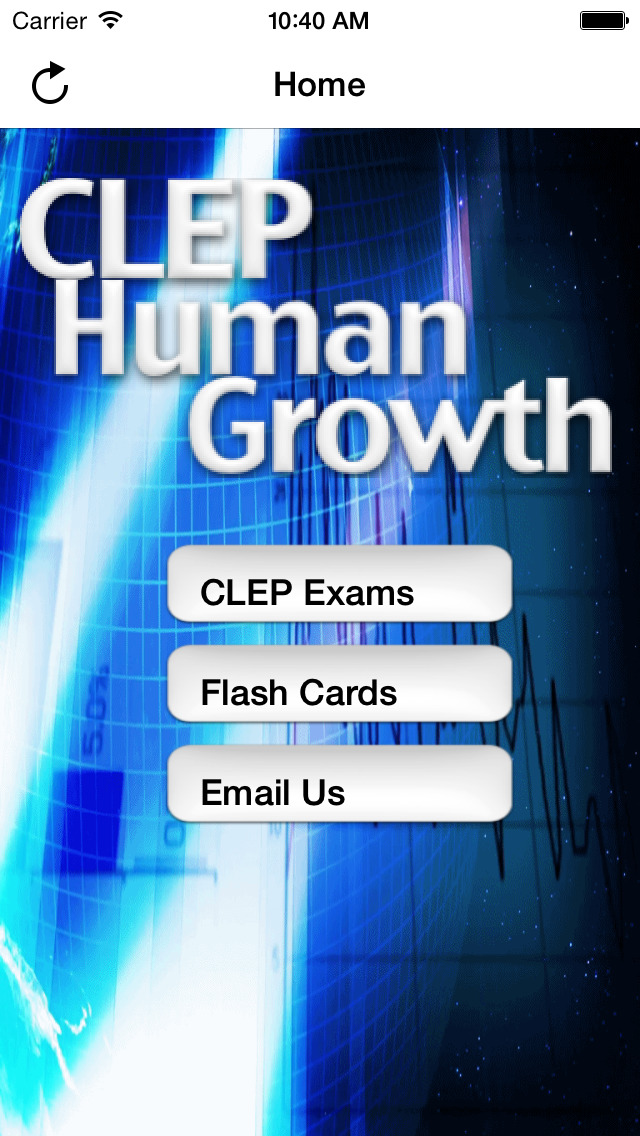 CLEP Human Growth Buddy screenshot 1
