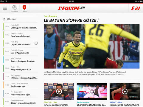L'EQUIPE, sports en direct screenshot 6