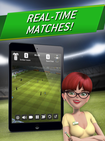 Striker Manager 2: Lead your Football Team screenshot 7