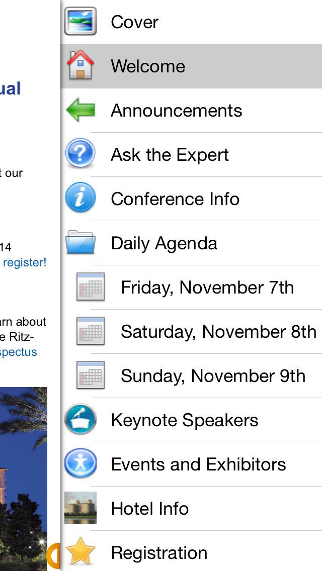 NFO Conference screenshot 3