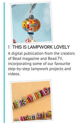 Lampwork Lovely - náhled