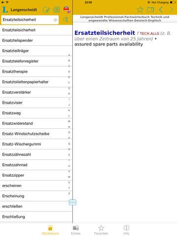 Technik und angewandte Wissenschaften Schmitt Englisch<->Deutsch Fachwörterbuch Professional screenshot 8