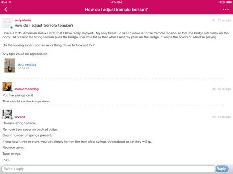 Strat-Talk Forum App screenshot 5