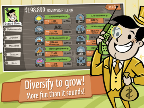 AdVenture Capitalist screenshot #4