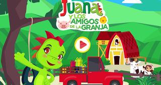 Play & Learn Spanish - Farm screenshot 1