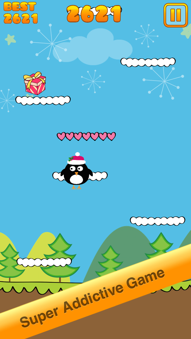 Cute Penguin Jump screenshot 1