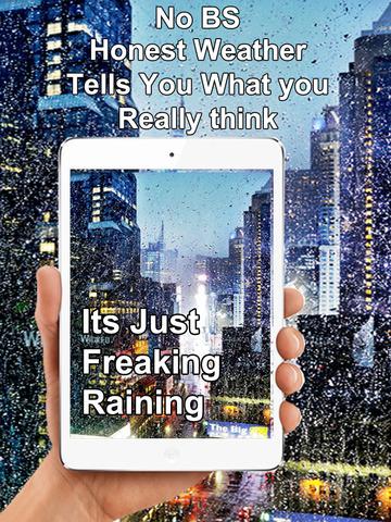 Honest Weather - Most Real, Honest & Authentic Weather app screenshot 6
