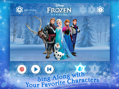 Disney Karaoke: Frozen screenshot 6