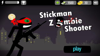 Stickman Zombie Shooter screenshot 1