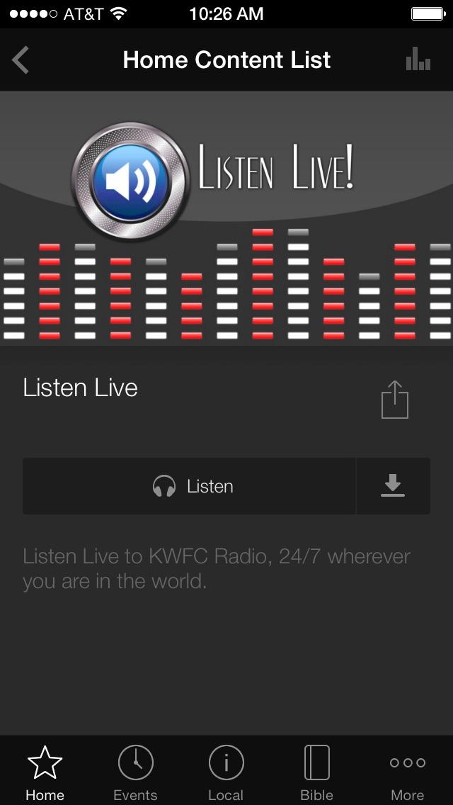 KWFC 89.1-FM screenshot 3
