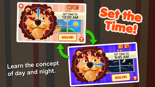 Interactive Telling Time screenshot 2