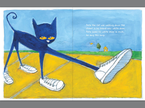 Pete The Cat I Love My White Shoes