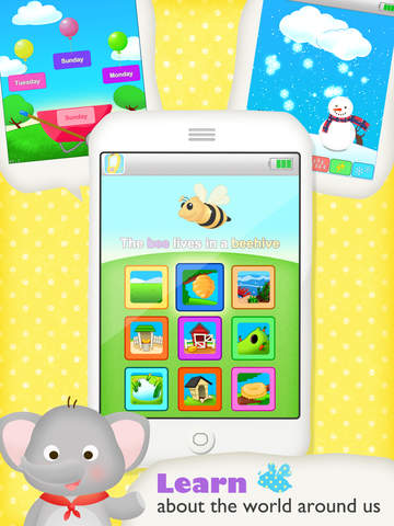 Buzz Me! Kids Toy Phone - All in One children activity center screenshot 7