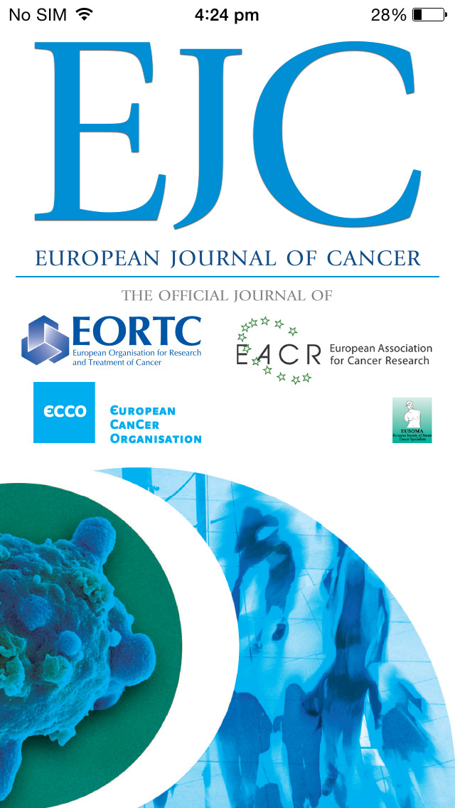 European Journal of Cancer screenshot 1