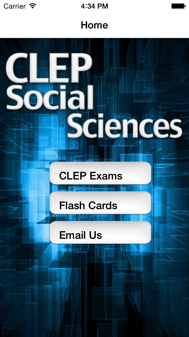 CLEP Social Sciences Prep 2020 screenshot 1