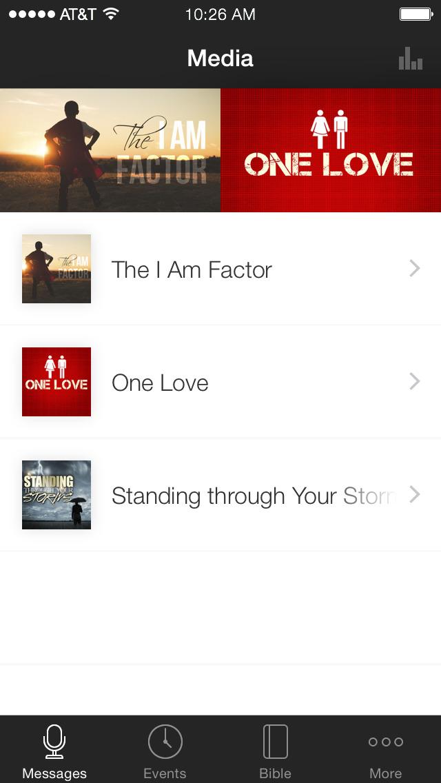 The Bridge Church App screenshot 1