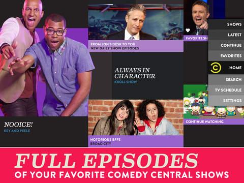 Comedy Central screenshot 6