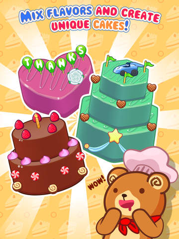 My Cake Maker - Create, Decorate and Eat Sweet Cakes screenshot #1