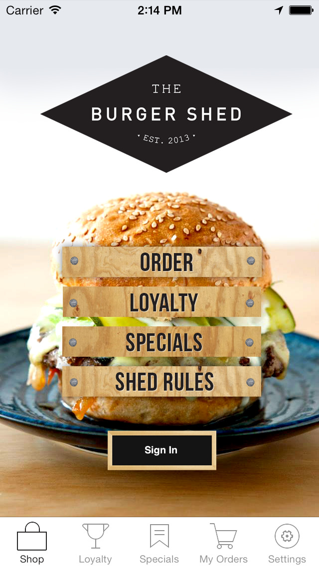 The Burger Shed screenshot 1
