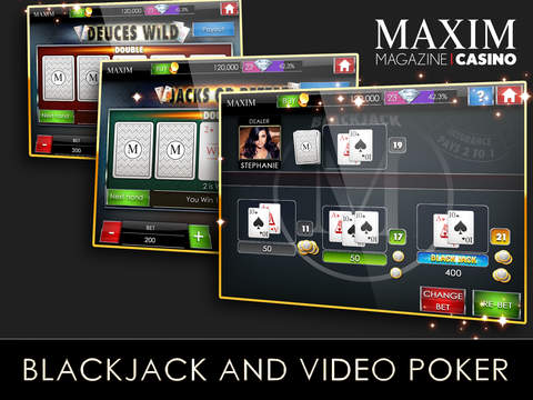 Maxim Casino Slots & Poker screenshot 8