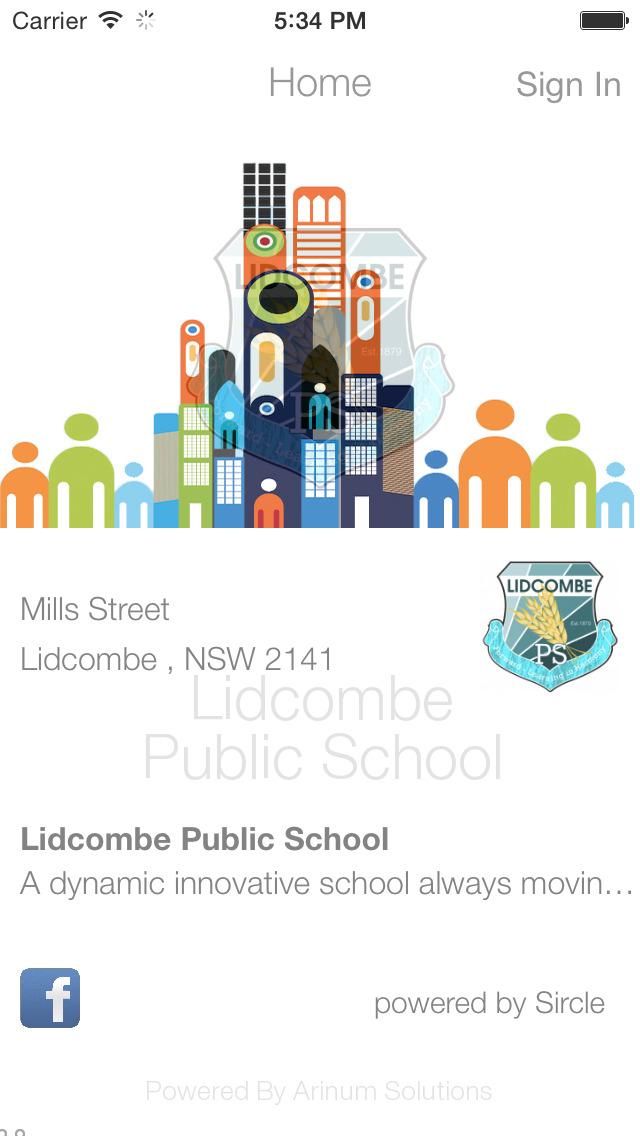 Lidcombe Public School screenshot 1