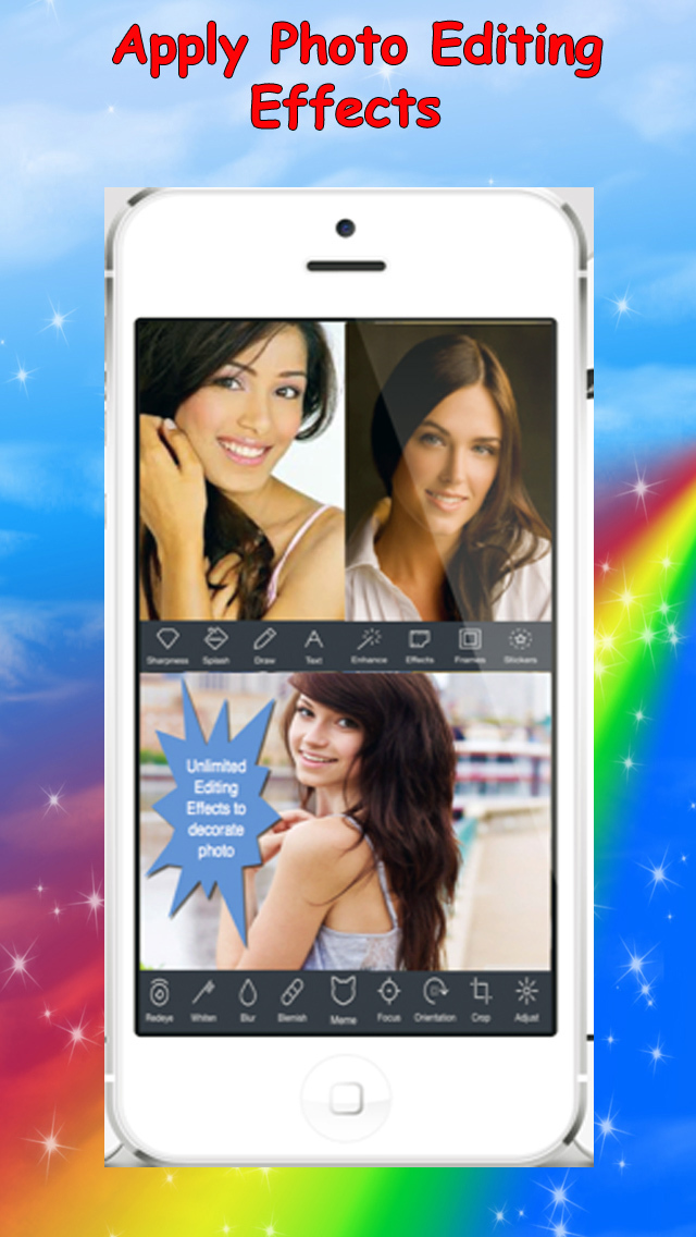 All-in-one Photo Editor - A Handy Photo Editing Tool with Most Complete Features screenshot 3